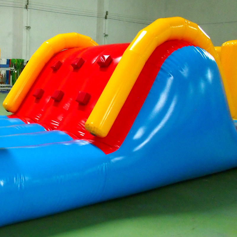 Air- filled water flush PVC material inflatable toy water sports obstacle