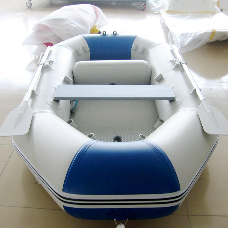 Portable fishing dinghy inflatable fishing boat
