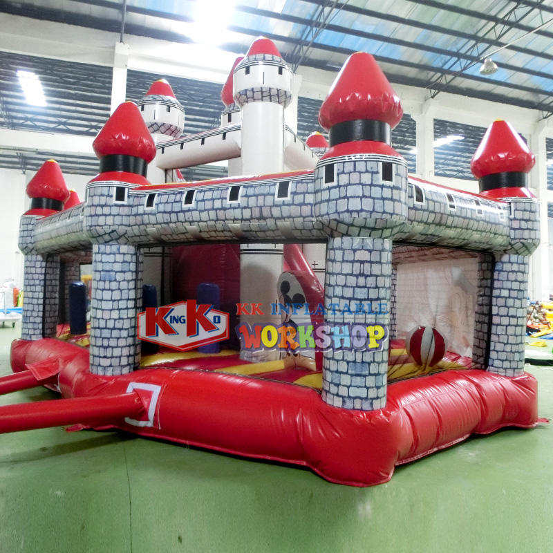 Commercial inflatable blow up jumping castle