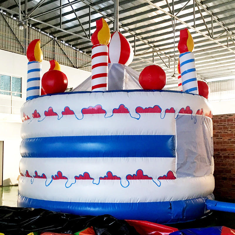 toys outdoor cake OEM inflatable bouncy KK INFLATABLE
