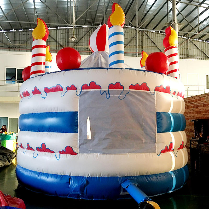 Custom rentals dome inflatable bouncy KK INFLATABLE printed