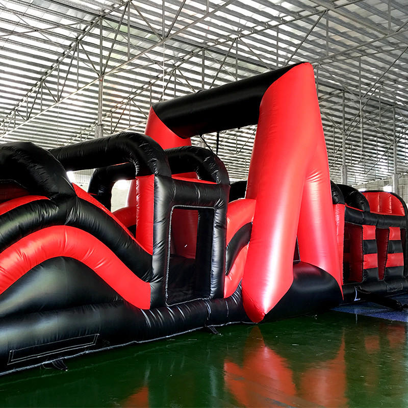 games shoogle KK INFLATABLE Brand inflatable assault course factory