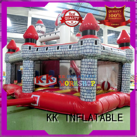 commercial jumping castle inflatable castle KK INFLATABLE company