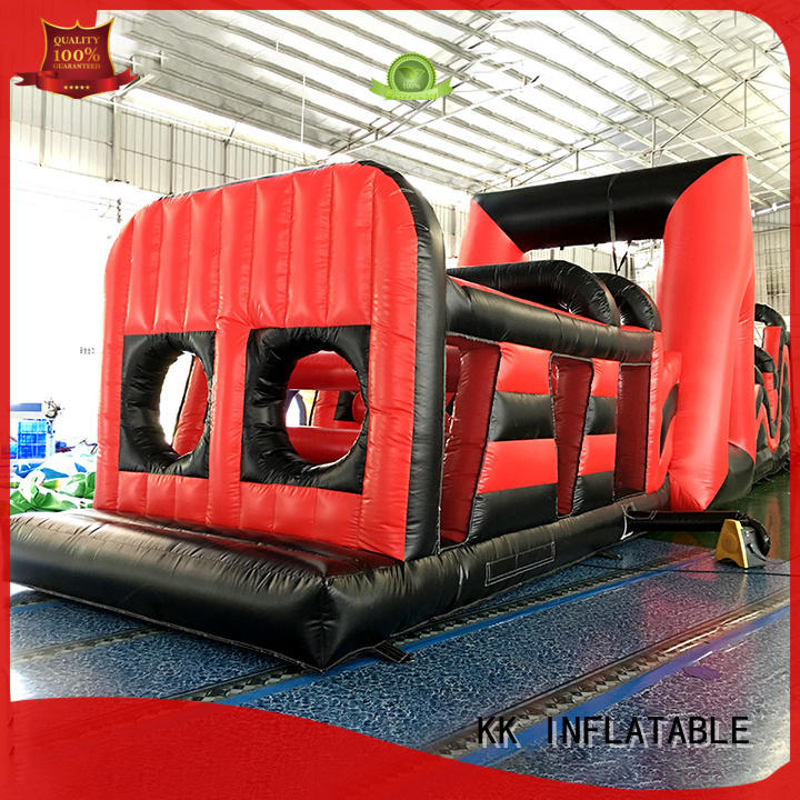 castle inflatable obstacles good quality for adventure KK INFLATABLE