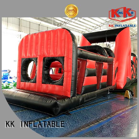 KK INFLATABLE Brand outdoor sport inflatable assault course