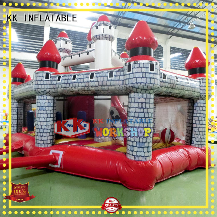 commercial blow inflatable bouncy castle inflatable KK INFLATABLE company