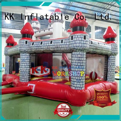 Wholesale blow inflatable bouncy castle KK INFLATABLE Brand