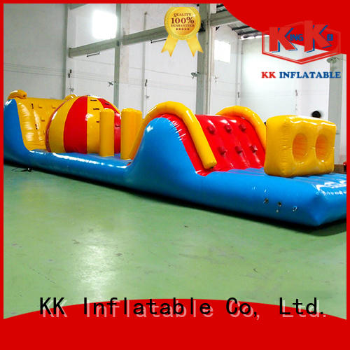 obstacle toy sports water inflatables KK INFLATABLE Brand