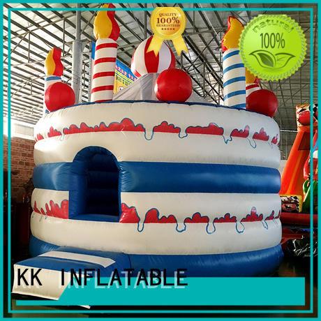 kids bouncer printed KK INFLATABLE Brand moonwalk bouncers manufacture