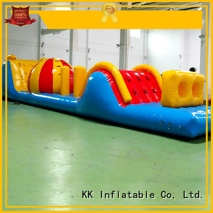 material obstacle water inflatables air KK INFLATABLE