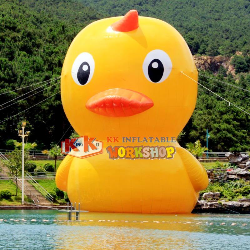 0.9mm PVC waterproof inflatable duckling cartoon