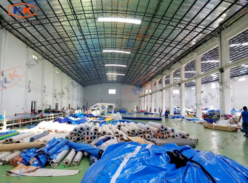 KK Inflatable material storege area