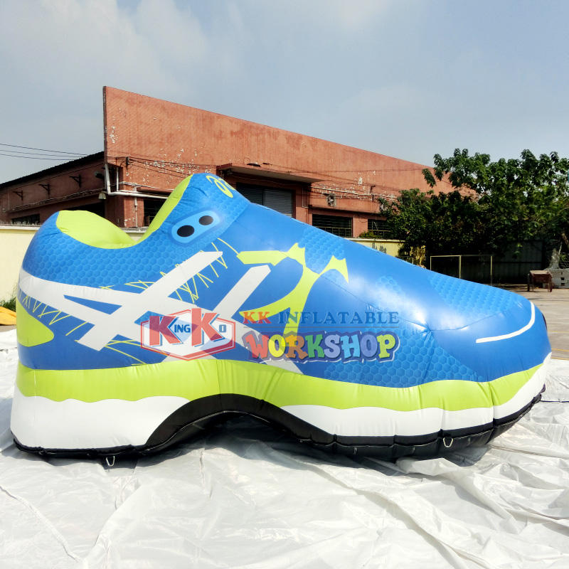 Shoe inflatable advertising model for Aasics company
