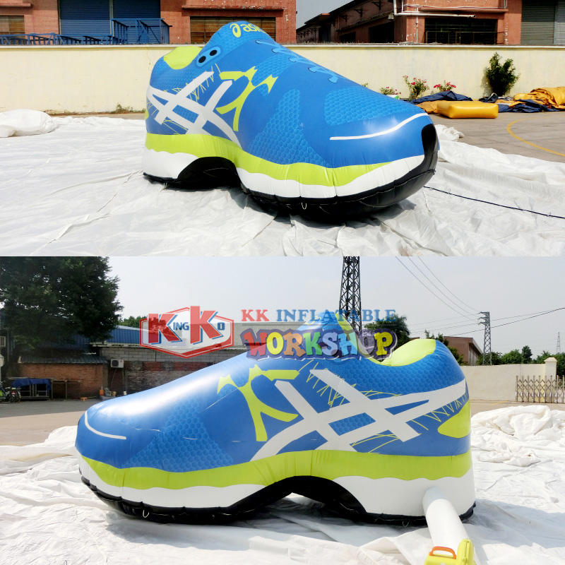 cool inflatable model shoe KK INFLATABLE company