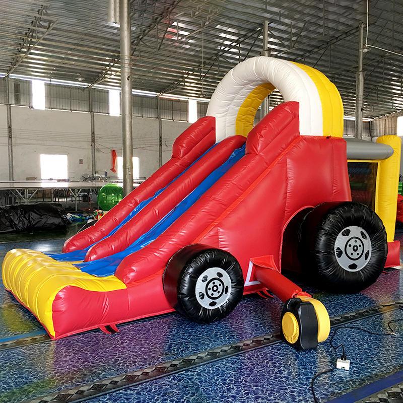 Car slide inflatable slip and slide for kids