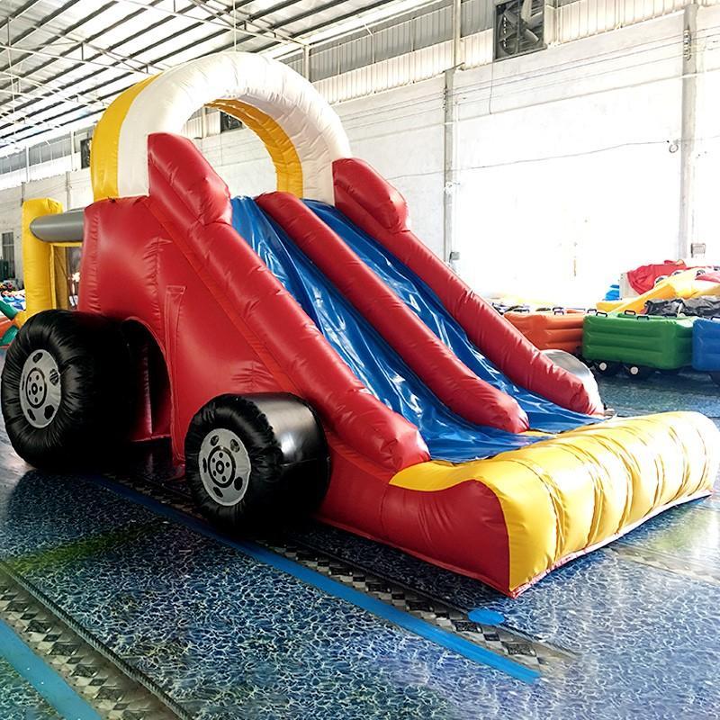 car inflatable KK INFLATABLE Brand bouncy slide