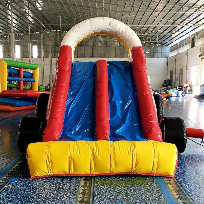 slip bouncy slide pvc polar KK INFLATABLE company