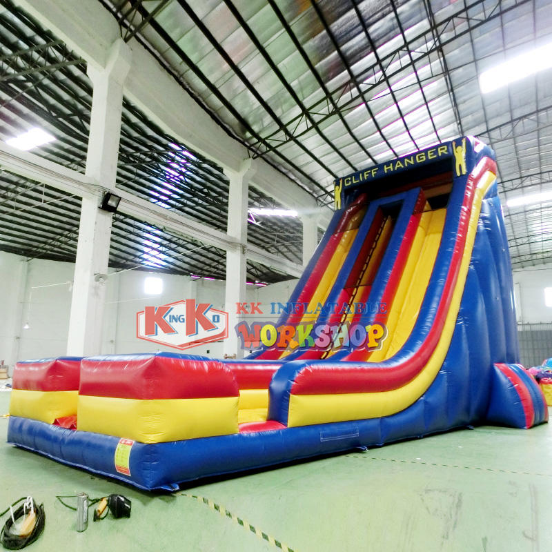 KK INFLATABLE Brand rental slip toys backyard water slide bear