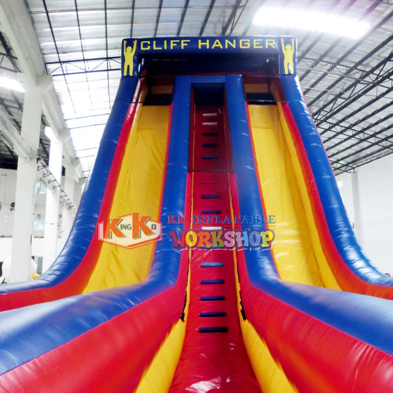 KK INFLATABLE customized water slides for kids colorful for swimming pool
