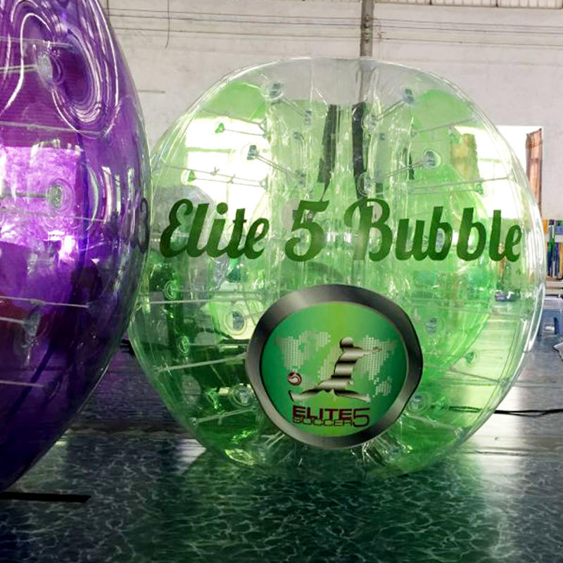 Durable water game inflatable bubble ball