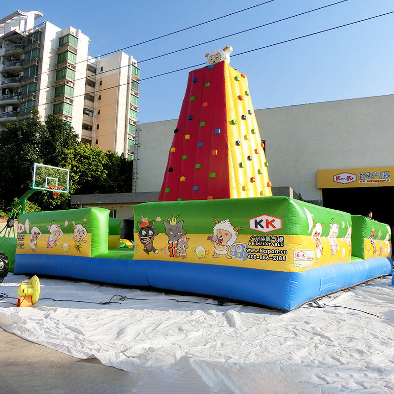 kid outdoor kids climbing wall park KK INFLATABLE company