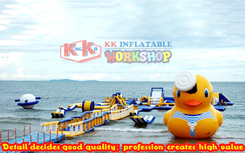 Summer interactive inflatable water game equipment