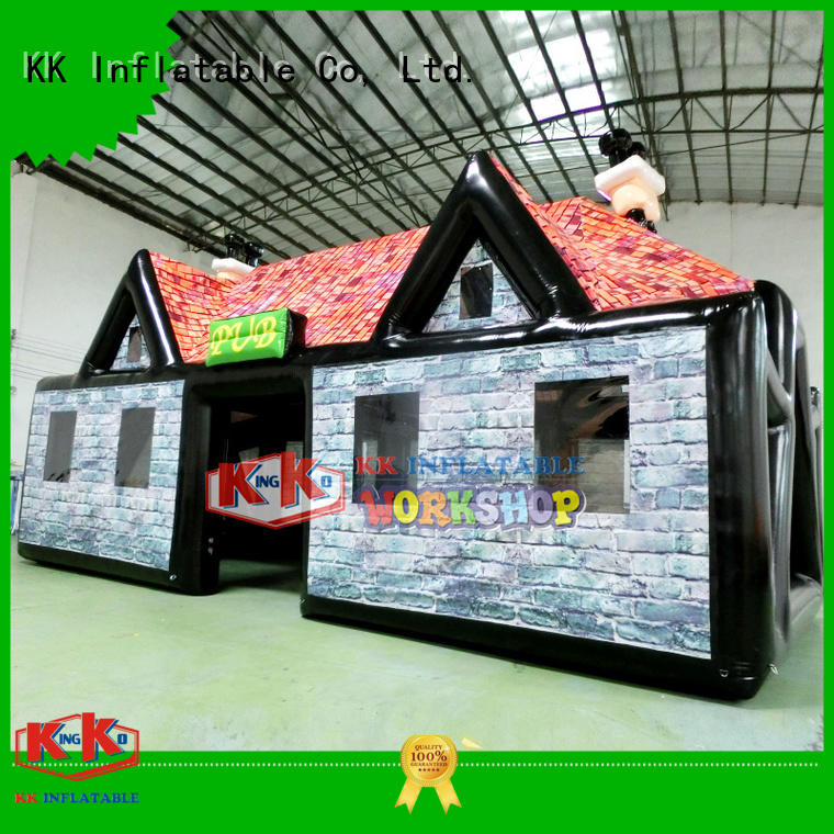 pvc inflatable party tent inflatable KK INFLATABLE company
