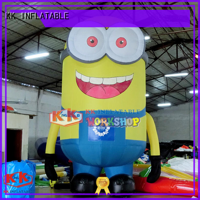 minion yard inflatable character model for shopping mall KK INFLATABLE