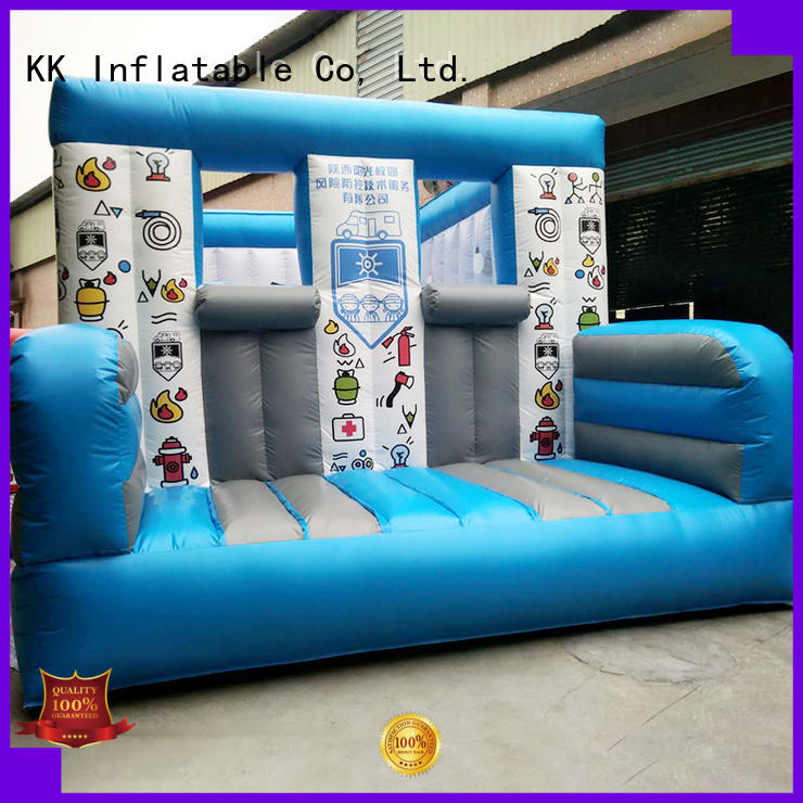 inflatable assault course inflatable sport fire Warranty KK INFLATABLE