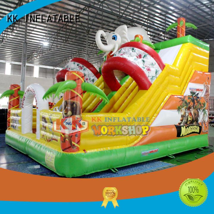 slide technology kids inflatable combo KK INFLATABLE Brand company