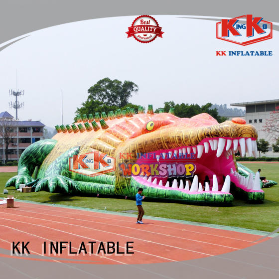 square 4 man inflatable tent factory price for Christmas KK INFLATABLE