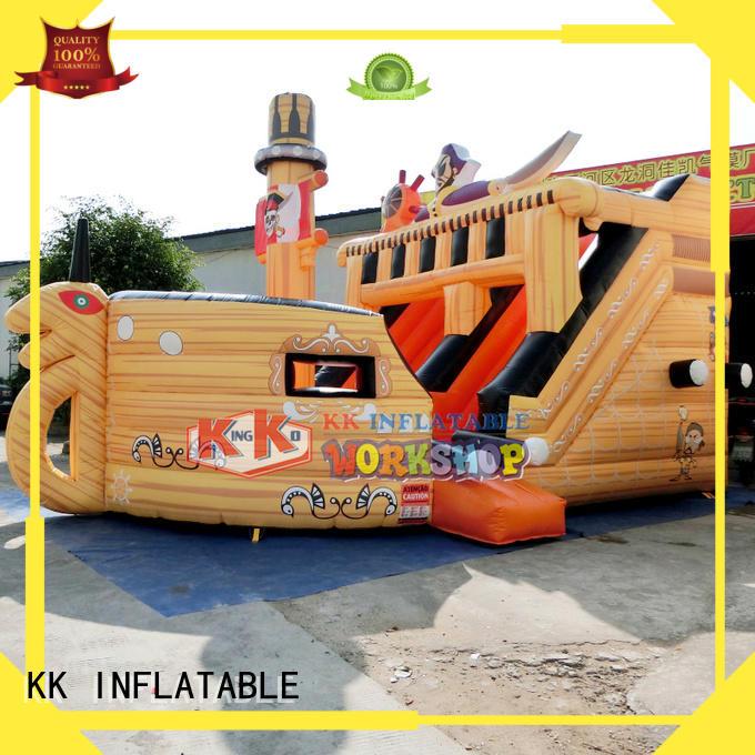backyard water slide bear Bulk Buy shape KK INFLATABLE