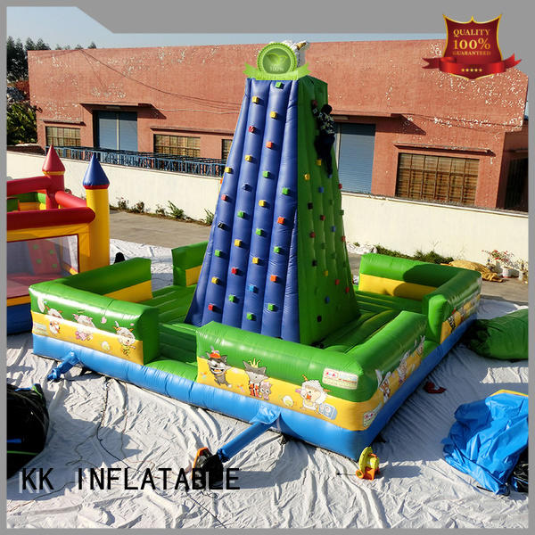 Wholesale wall inflatable climbing wall rock KK INFLATABLE Brand