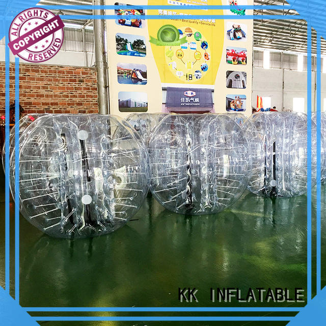 KK INFLATABLE waterproof inflatable bubble ball wholesale for swimming pool