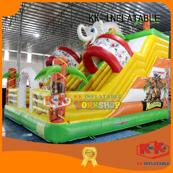 sewing inflatable bouncy kids inflatable combo KK INFLATABLE