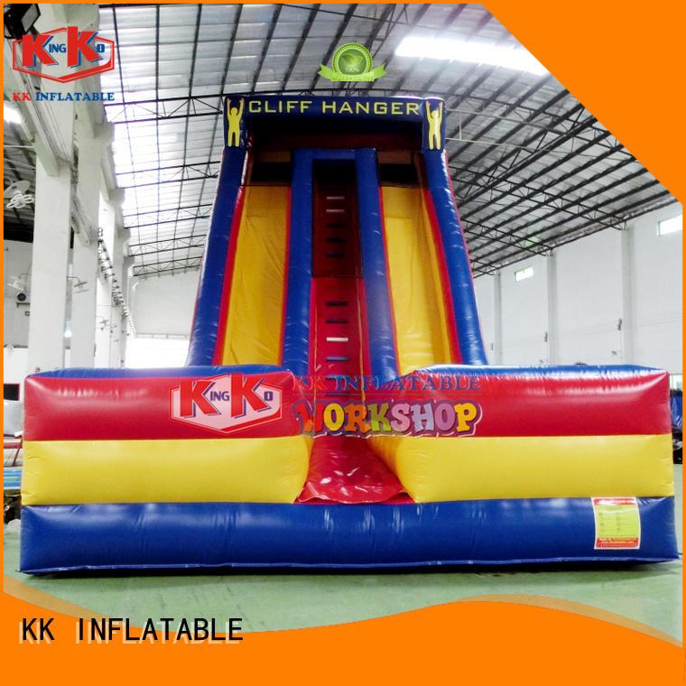 Hot slip backyard water slide outdoor KK INFLATABLE Brand