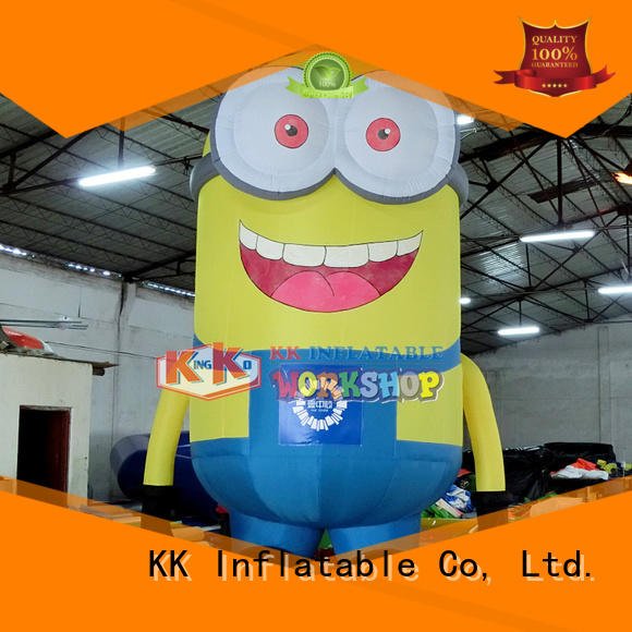 minion christmas blow up beer advertising inflatable model model KK INFLATABLE Brand