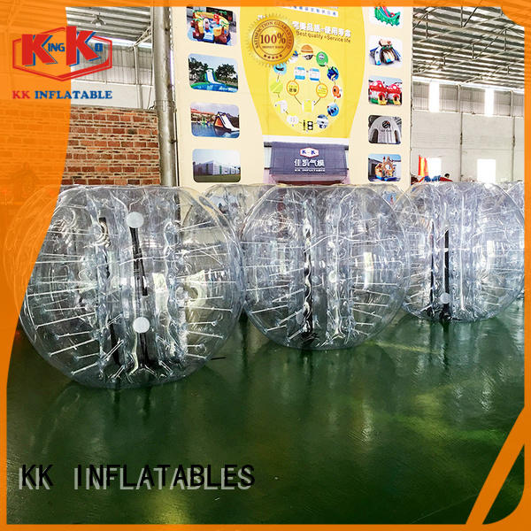 inflatable ball suit colorful for amusement park KK INFLATABLE