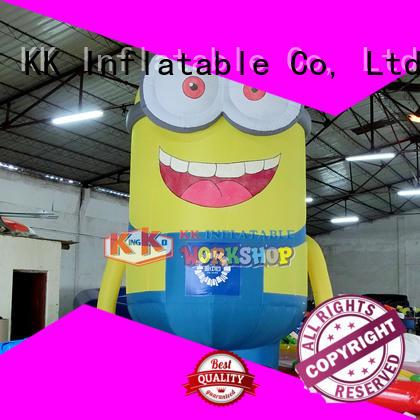 KK INFLATABLE Brand amazing cartoon inflatable model happy factory