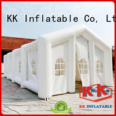 christmas amusement customized inflatable party tent KK INFLATABLE manufacture