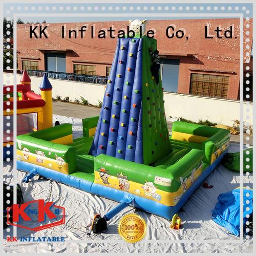 inflatable climbing wall kid KK INFLATABLE Brand kids climbing wall