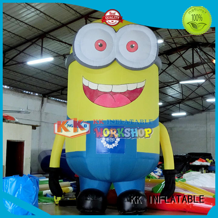 minion christmas blow up happy inflatable model KK INFLATABLE Brand