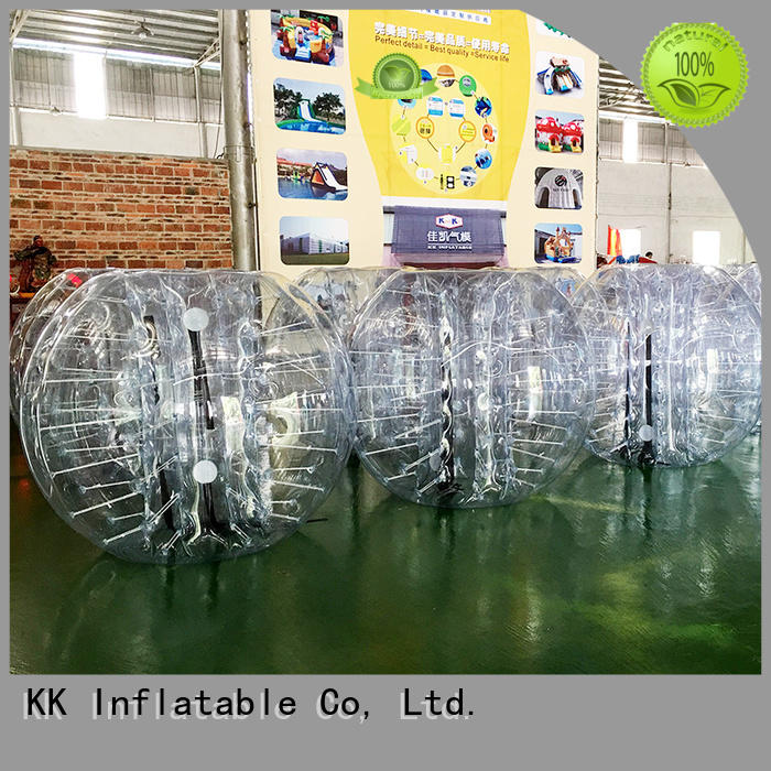 Quality KK INFLATABLE Brand game water inflatable bubble ball
