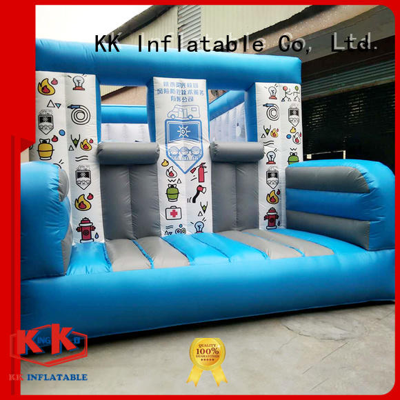 inflatable assault course shoogle inflatable obstacle course KK INFLATABLE Brand