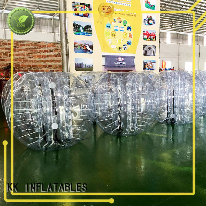 KK INFLATABLE inflatable ball suit manufacturer for swimming pool