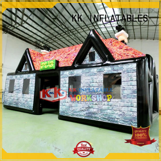 KK INFLATABLE square 3 man inflatable tent wholesale for advertising