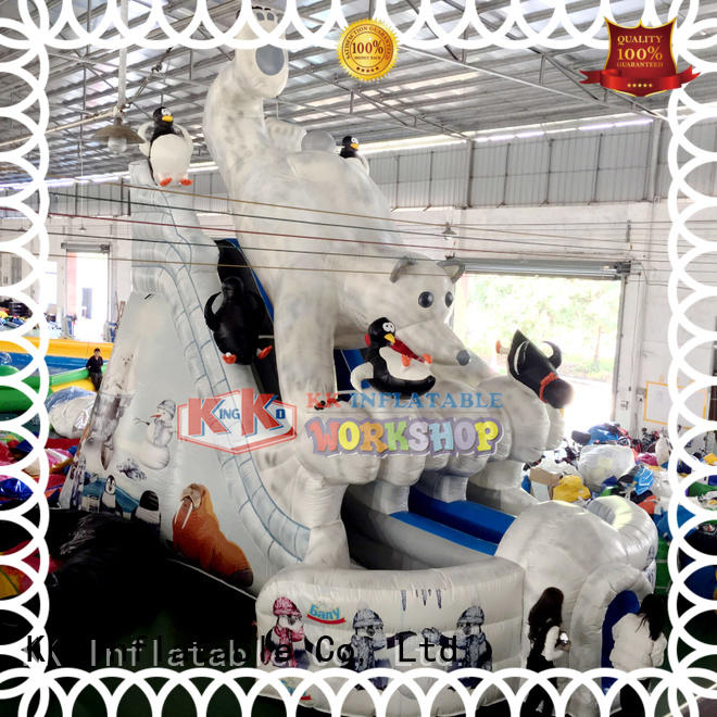 car Custom shape kids bouncy slide KK INFLATABLE rental