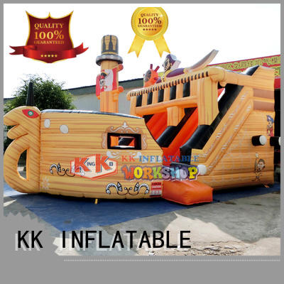 backyard water slide rental polar pvc Warranty KK INFLATABLE