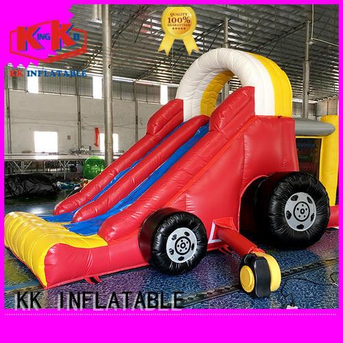backyard water slide tarpaulin inflatable slide bouncy slide manufacture