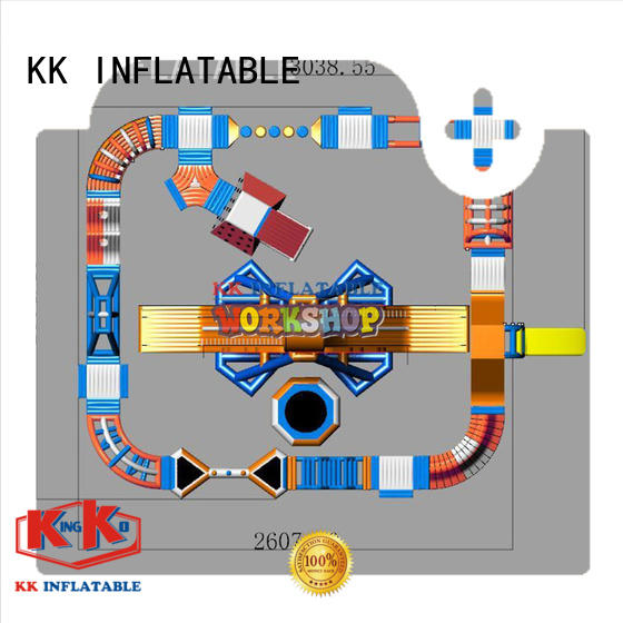 giant inflatable water park pvc KK INFLATABLE Brand water inflatables
